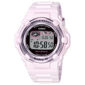 カシオ BABY-G MULTI BAND 6 Pink Bouquet Seriesソーラー電波時計 レディースタイプ BGR-3003-4JF 返品種別A|joshin