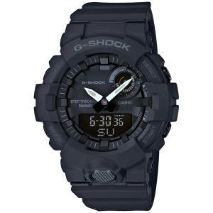 カシオ G-SHOCK G-SQUAD BluetoothGショック デジアナ時計 メンズタイプ GBA-800-1AJF 返品種別A|joshin