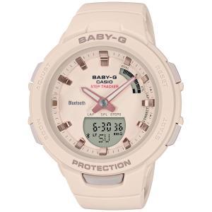 カシオ (国内正規品)BABY-G G-SQUADデジアナ時計 レディースタイプ BSA-B100-4A1JF 返品種別A|Joshin web