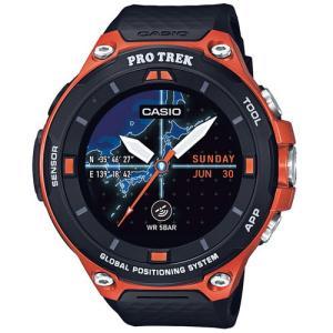 カシオ Smart Outdoor Watch PROTREK Smartスマート アウトドア ウォッチ プロトレックスマート WSD-F20-RG 返品種別B|joshin