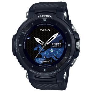 カシオ (国内正規品)スマートウォッチPROTREK Smart Outdoor Watch WSD-F30-BK 返品種別A|joshin