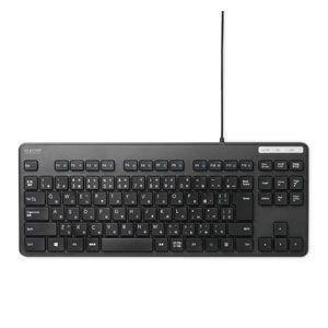 エレコム 有線キーボード メンブレン式 コンパクトサイズ 薄型(ブラック) ELECOM TK-FCM107XBK 返品種別A|joshin