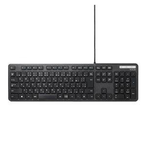 エレコム 有線キーボード メンブレン式 フルサイズ 薄型(ブラック) ELECOM TK-FCM108XBK 返品種別A|joshin