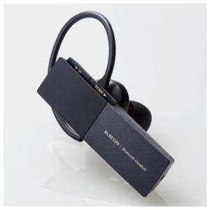 エレコム 片耳用 Bluetooth 5.0 ヘッドセット USBType-Cポート搭載(ブラック)...