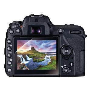 エレコム ニコン「D7500」用 液晶保護フィルム 高精細衝撃吸収 高光沢 AR DFL-ND750...