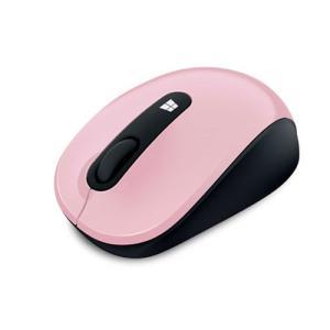 マイクロソフト 2.4GHz ワイヤレスマウス(ピンク) Sculpt Mobile Mouse 4...