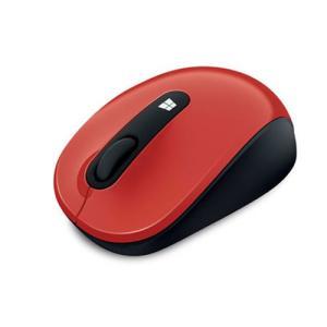 マイクロソフト 2.4GHz ワイヤレスマウス(レッド) Sculpt Mobile Mouse 4...