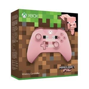 マイクロソフト (Xbox One)Xbox ワイヤレス コントローラー(Minecraft Pig) 返品種別B|joshin