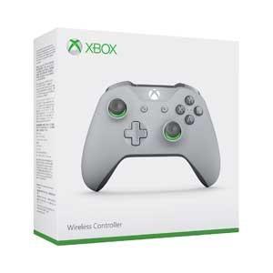 マイクロソフト (Xbox One)Xbox ワイヤレス コントローラー(グレー/ グリーン) 返品...
