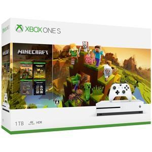 マイクロソフト Xbox One S 1TB Minecraft マスター コレクション同梱版 返品種別B|joshin