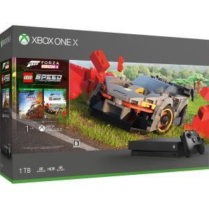 マイクロソフト Xbox One X (Forza Horizon 4 /  Forza Horizon 4 LEGO Speed Champions 同梱版) 返品種別B