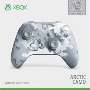 マイクロソフト (Xbox One)Xbox ワイヤレス コントローラー (Arctic Camo ...