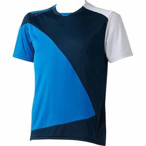 アリーナ (メンズ/ ユニ)プールサイド Tシャツ(Dネイビー×ブルー×ホワイト・Mサイズ) arena Tシャツ DS-ARN6332-DBW-M 返品種別A joshin