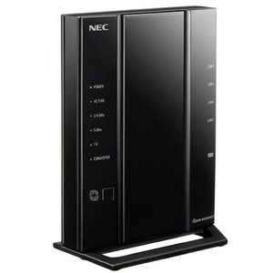 NEC 11ac対応 1733+800Mbps 無線LANルータ(親機単体) Aterm WG2600HP3 PA-WG2600HP3 返品種別A|joshin