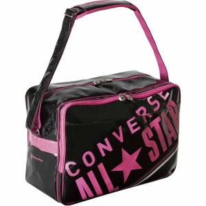 コンバース エナメルショルダー(ブラック/ ピンク・L) CONVERSE CON-C1612052...