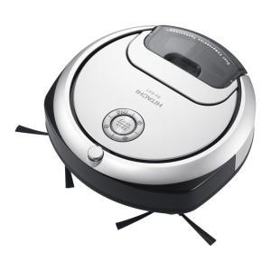 日立 ロボット掃除機 パールホワイト (掃除機)HITACHI minimaru(ミニマル) RV-...