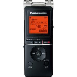 パナソニック リニアPCM対応ICレコーダー8GBメモリ内蔵+外部マイクロSDスロット搭載(ブラック) Panasonic RR-XS470-K 返品種別A|joshin