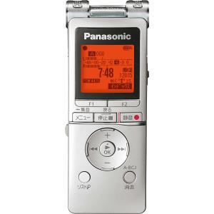 パナソニック リニアPCM対応ICレコーダー8GBメモリ内蔵+外部マイクロSDスロット搭載(シルバー) Panasonic RR-XS470-S 返品種別A|joshin