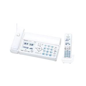 パナソニック デジタルコードレス普通紙FAX(子機1台付き) ホワイト Panasonic おたっくす KX-PZ510DL-W 返品種別A|joshin