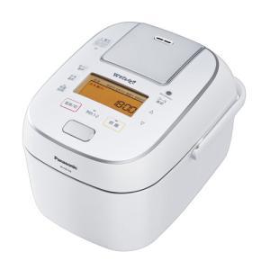 パナソニック 可変圧力IHジャー炊飯器(5.5合炊き) ホワイト Panasonic Wおどり炊き SR-PW108-W 返品種別A|joshin