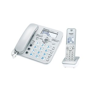 パナソニック デジタルコードレス留守番電話機(子機1台) シルバー Panasonic ル・ル・ル(RU・RU・RU) VE-GZ31DL-S 返品種別A|joshin