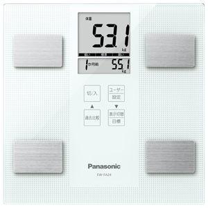 パナソニック 体組成バランス計(ホワイト) Panasonic EW-FA24-W 返品種別A|joshin