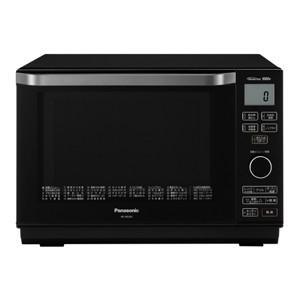 パナソニック 簡易スチームオーブンレンジ 26L ブラック Panasonic エレック NE-MS265-K 返品種別A|joshin