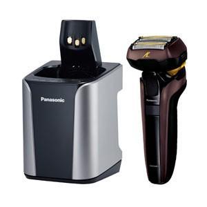 パナソニック 電気シェーバー(茶) Panasonic LAMDASH(ラムダッシュ)(5枚刃) ES-LV7D の限定モデル ES-CLV7D-T 返品種別A|joshin