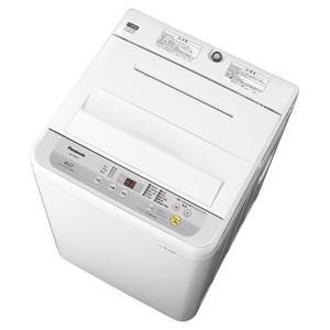 (標準設置 送料無料) パナソニック 6.0kg 全自動洗濯機 シルバー Panasonic NA-F60B12-S 返品種別A|joshin
