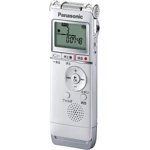 パナソニック リニアPCM対応ICレコーダー8GBメモリ内蔵+外部マイクロSDHCスロット搭載(ホワイト) Panasonic RR-XS370-W 返品種別A|joshin