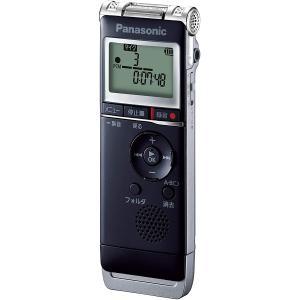 パナソニック リニアPCM対応ICレコーダー8GBメモリ内蔵+外部マイクロSDHCスロット搭載(ブラック) Panasonic RR-XS370-K 返品種別A|joshin