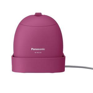 パナソニック コードつき衣類スチーマー(ビビッドピンク) Panasonic NI-MS100-VP...