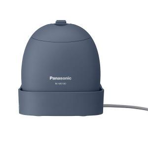 パナソニック コードつき衣類スチーマー(グレイッシュブルー) Panasonic NI-MS100-...