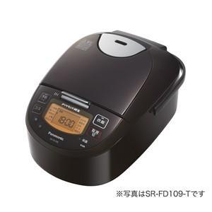 パナソニック IHジャー炊飯器(1升炊き) ブラウン Panasonic SR-FD189-T 返品種別A