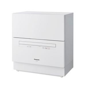 パナソニック 食器洗い乾燥機(ホワイト) (食洗機)(食器洗い機) Panasonic NP-TA3...
