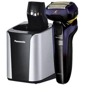 パナソニック メンズシェーバー(青) Panasonic LAMDASH(ラムダッシュ) DRY/ WASHABLE(5枚刃) ES-LV7E の限定モデル ES-CLV7E-A 返品種別A