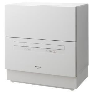 パナソニック 食器洗い乾燥機(ホワイト) (食洗機)(食器洗い機) Panasonic NP-TA4...