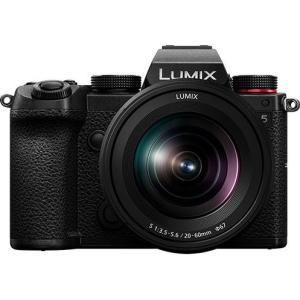 パナソニック フルサイズミラーレス一眼カメラ「LUMIX DC-S5」標準ズームレンズキット DC-S5K-K 返品種別A Joshin web