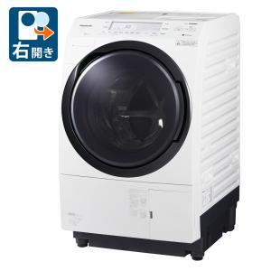 (標準設置 送料無料) パナソニック 10.0kg ドラム式洗濯乾燥機(右開き)クリスタルホワイト Panasonic VXシリーズ NA-VX700BR-W 返品種別Aの画像