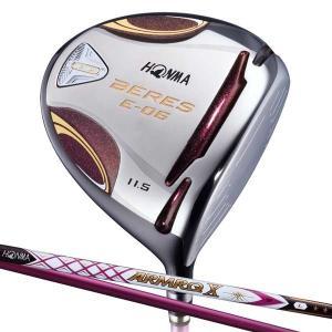 本間ゴルフ BERES E-06LA レディースドライバー 3Sグレード ARMRQ X 38カーボンシャフト 12.5°フレックス:L BRS E-06 38-3S 12.5L 返品種別A|joshin