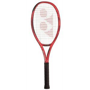 ヨネックス テニス ラケット(フレイムレッド・サイズ:LG1・ガット未張り上げ)Vコア 100 YO...