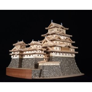 ウッディジョー 1/ 150 姫路城(改良版)木製組立キット 返品種別B joshin