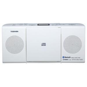東芝 Bluetooth機能搭載CDラジオ(ホワイト) TOSHIBA TY-CW26(W) 返品種別A|joshin