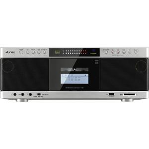 東芝 ハイレゾ対応SD/ USB/ CDラジカセ(サテンゴールド) TOSHIBA Aurex TY-AK1 返品種別A|joshin