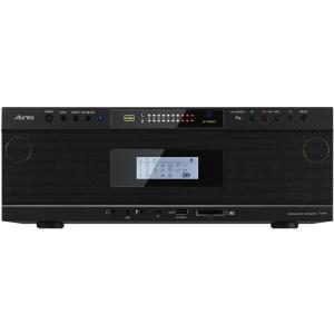 東芝 ハイレゾ対応Bluetooth/ SD/ USB/ CDラジオ(ブラック) TOSHIBA Aurex TY-AH1(K) 返品種別A|joshin