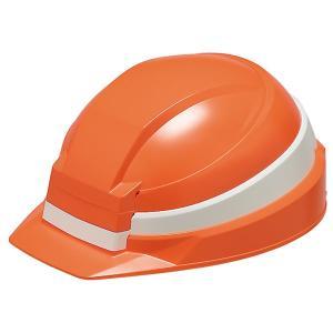 DICプラスチック IZANO 折りたためるヘルメット(オレンジ/ ホワイトライン) IZANOヘルメット オレンジシロ 返品種別A|joshin