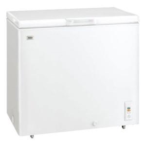 (標準設置 送料無料)ハイアール 205L チェストタイプ 冷凍庫(フリーザー)直冷式 ホワイト Haier JF-NC205F(W) 返品種別A|joshin