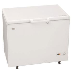 (標準設置 送料無料)ハイアール 319L 冷凍庫(フリーザー)直冷式 ホワイト Haier JF-NC319F-W 返品種別A|joshin