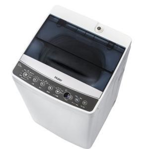 (標準設置 送料無料) ハイアール 5.5kg 全自動洗濯機 ブラック Haier JW-C55A-K 返品種別A|joshin