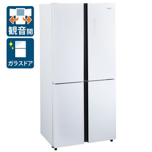 (標準設置 送料無料) ハイアール 468L 4ドア冷蔵庫(ホワイト) Haier Global Series JR-NF468A-W 返品種別A|joshin